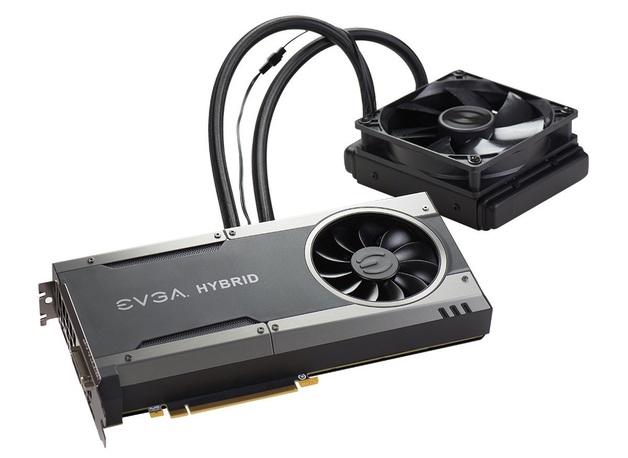 EVGA GeForce GTX 1080 FTW Hybrid Version Water Cooled GPU