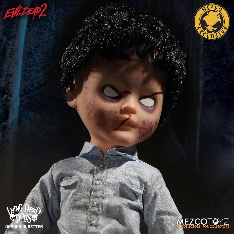 "Living Dead Dolls: Evil Dead 2 - Deadite Ash 10"" Doll image"