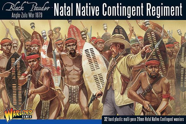 Anglo Zulu War Natal Native Contingent Regiment
