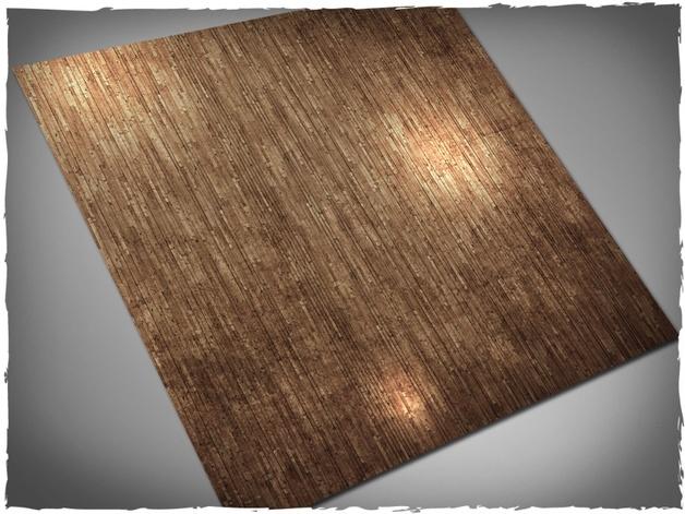 DeepCut Studio Wooden Floor PVC Mat (3x3)