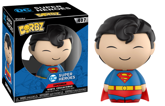 DC Comics - Superman Dorbz Vinyl Figure (with a chance for a Chase version!)