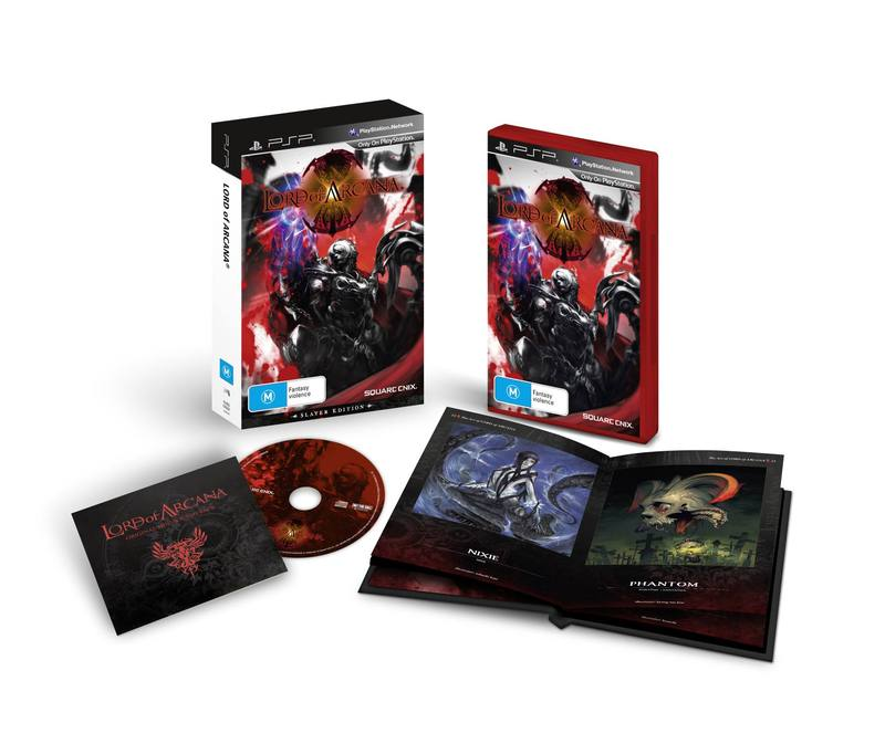 Lord of Arcana Expanded Slayer Edition for PSP image