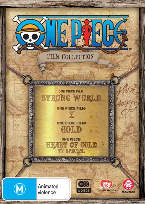 One Piece Film Collection Limited Edition Dvd On Sale