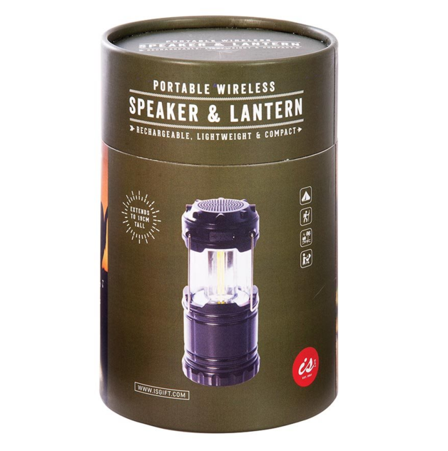 IS GIFT Portable Wireless Speaker and Lantern
