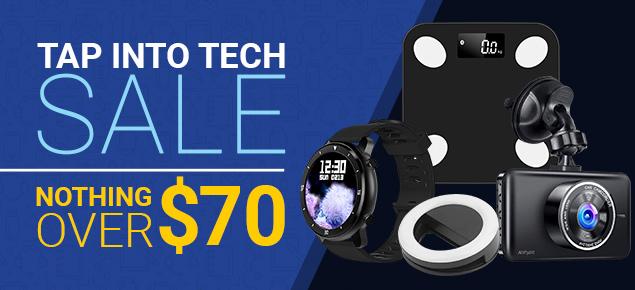 Tap into Tech Sale!