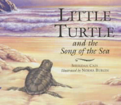 Little Turtle and the Song of the Sea by Sheridan Cain image