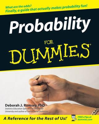 Probability For Dummies by Deborah J. Rumsey image
