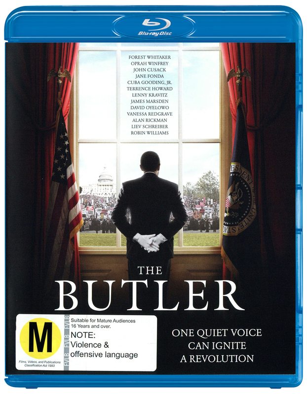 The Butler on Blu-ray