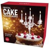 Crystal Cake Candelabra