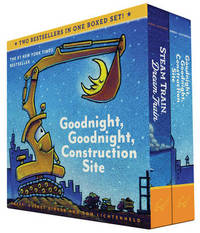 Goodnight, Goodnight, Construction Site and Steam Train, Dream Train Board Books Boxed Set by Sherri Duskey Rinker