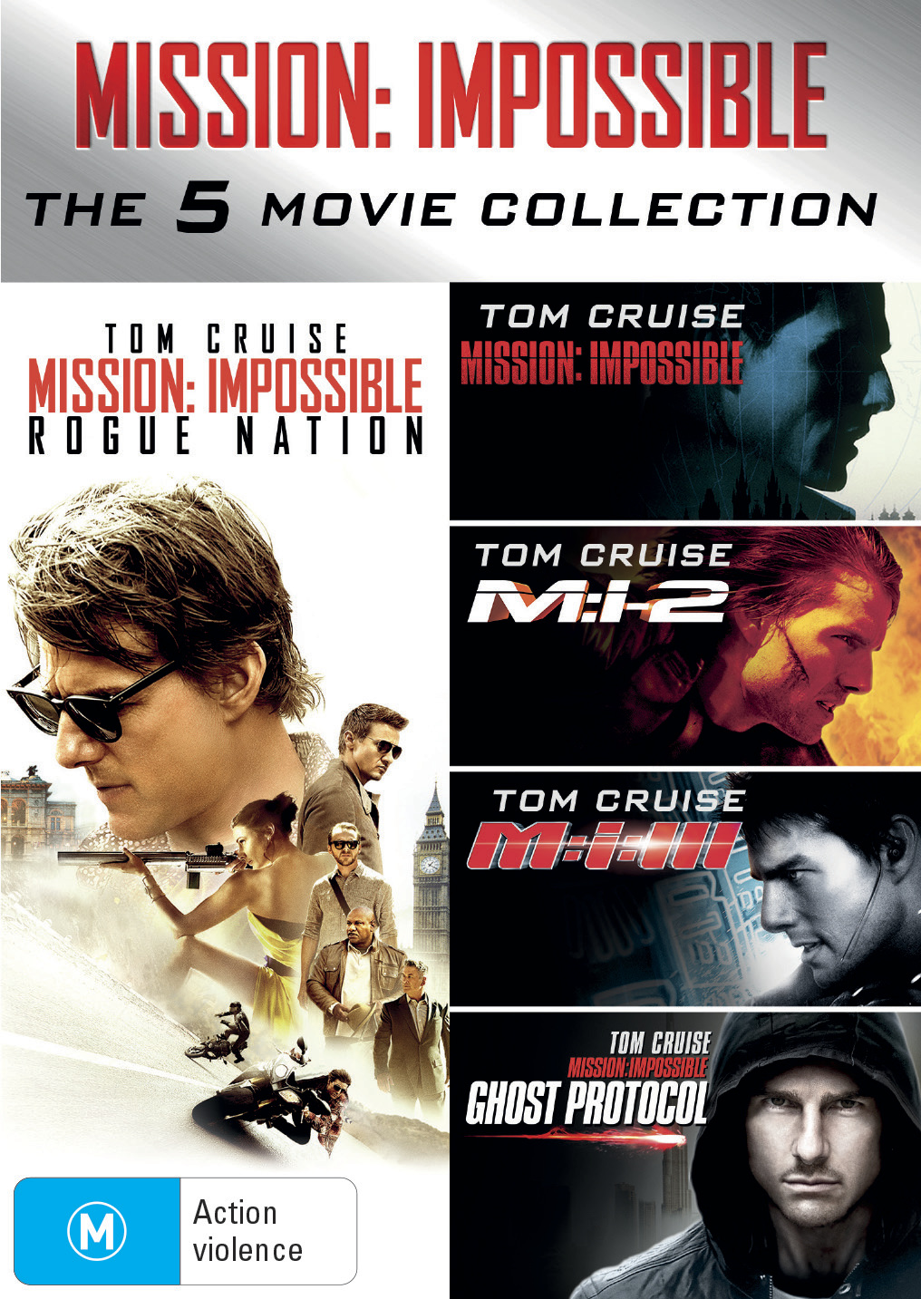 Mission Impossible Box Set (5 Movie Pack) on DVD image