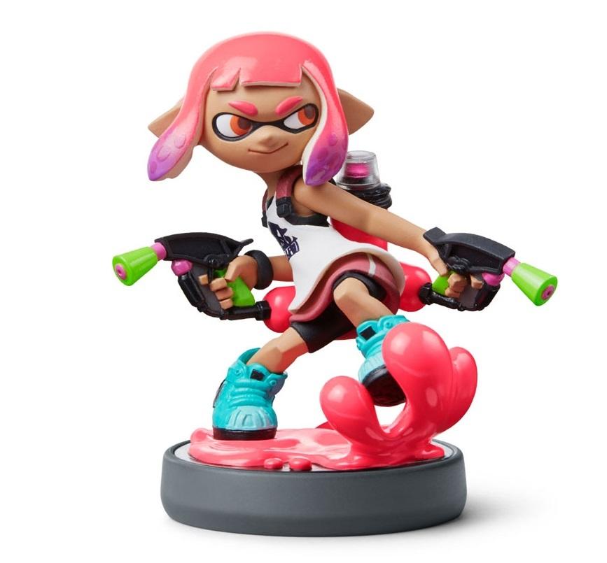 Nintendo Amiibo New Inkling Girl - Splatoon Collection for  image