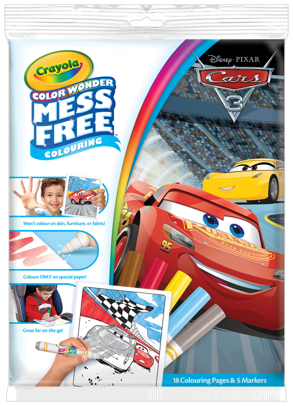 Crayola Color Wonder Mess Free - Cars 3
