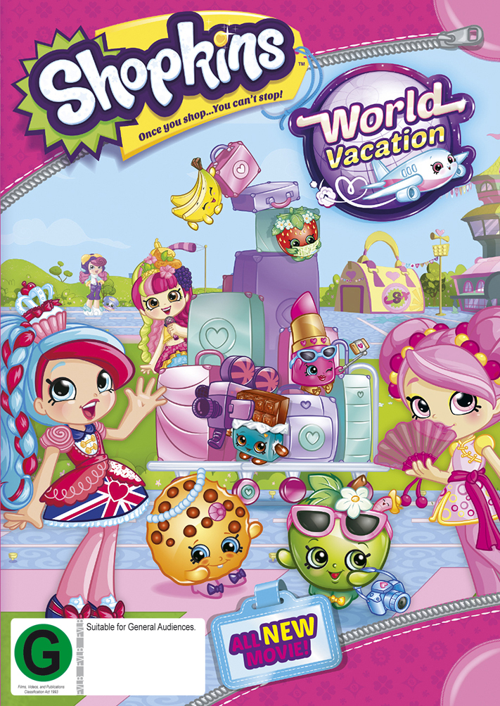 Shopkins - World Vacation on DVD image