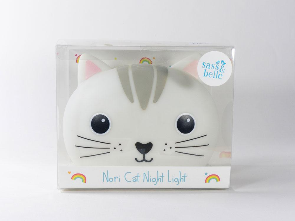 Nori Cat Kawaii Friends Night Light image