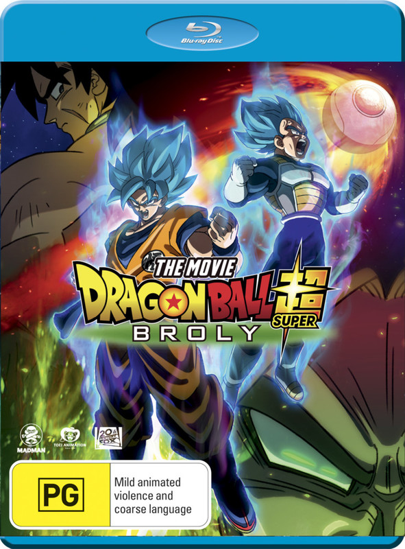 Dragon Ball Super - The Movie: Broly on Blu-ray