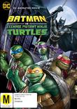DC Batman vs Ninja Turtles on DVD