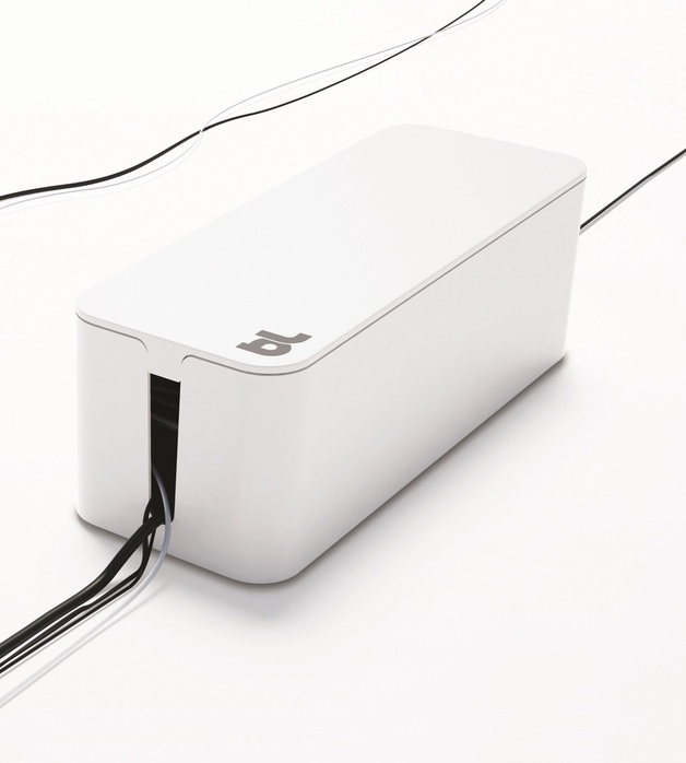 Bluelounge CableBox Cable Management Solution - White