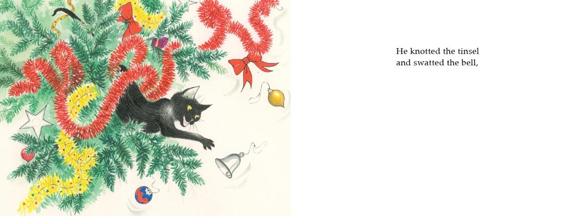Slinky Malinki's Christmas Crackers by Lynley Dodd image
