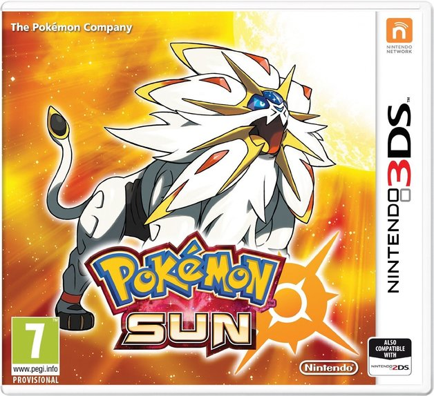 Pokemon Sun for 3DS