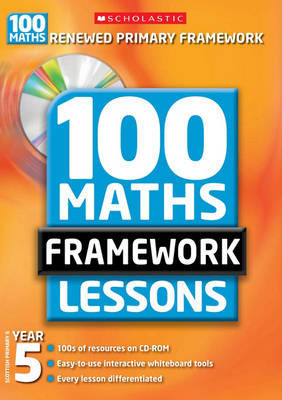 100 New Maths Framework Lessons for Year 5 by Yvette McDaniel image