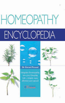 Homeopathy Encyclopedia by Gerard Pacaud image
