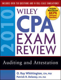 Wiley CPA Exam Review 2010: Auditing and Attestation by Patrick R. Delaney image