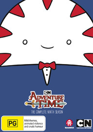 Adventure Time - The Complete Ninth Season on DVD