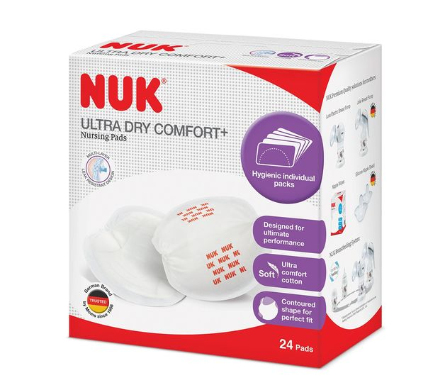 NUK: Ultra Dry Nursing Pads (24 Pack)