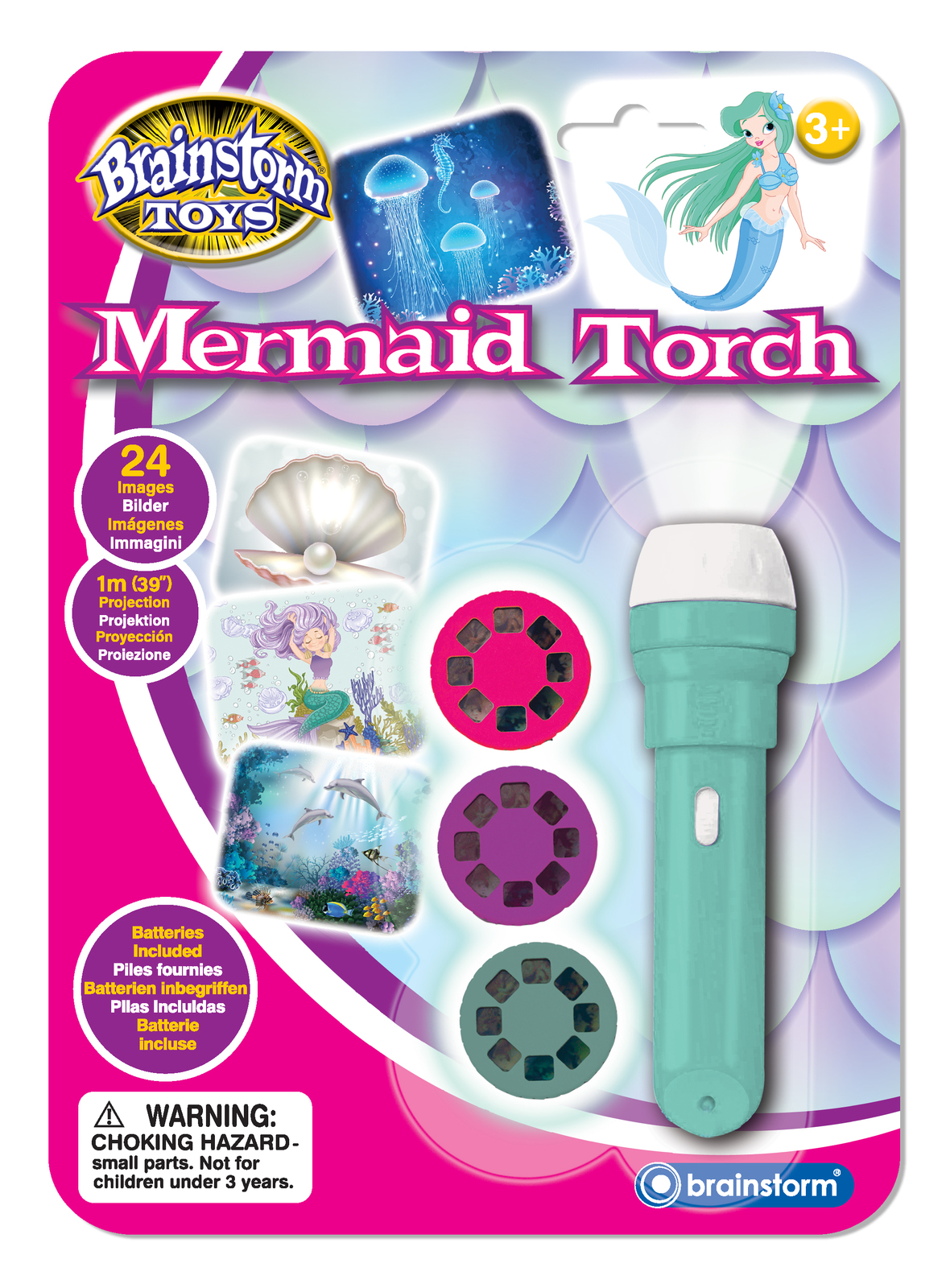 Brainstorm Toys: Mermaid Torch & Projector image