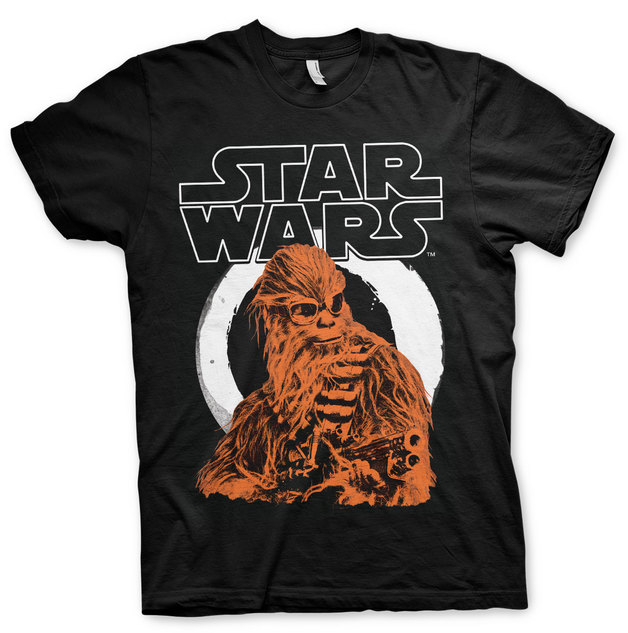 Star Wars Solo: Chewbacca T-Shirt - Black (Large)