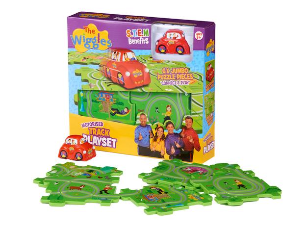 The Wiggles: Motorised Puzzle Trackset