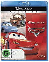 Cars on Blu-ray image