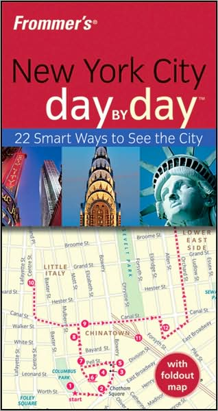 Frommer's New York City Day by Day by Alexis Lipsitz Flippin image