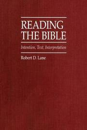 Reading the Bible by Robert D Lane image