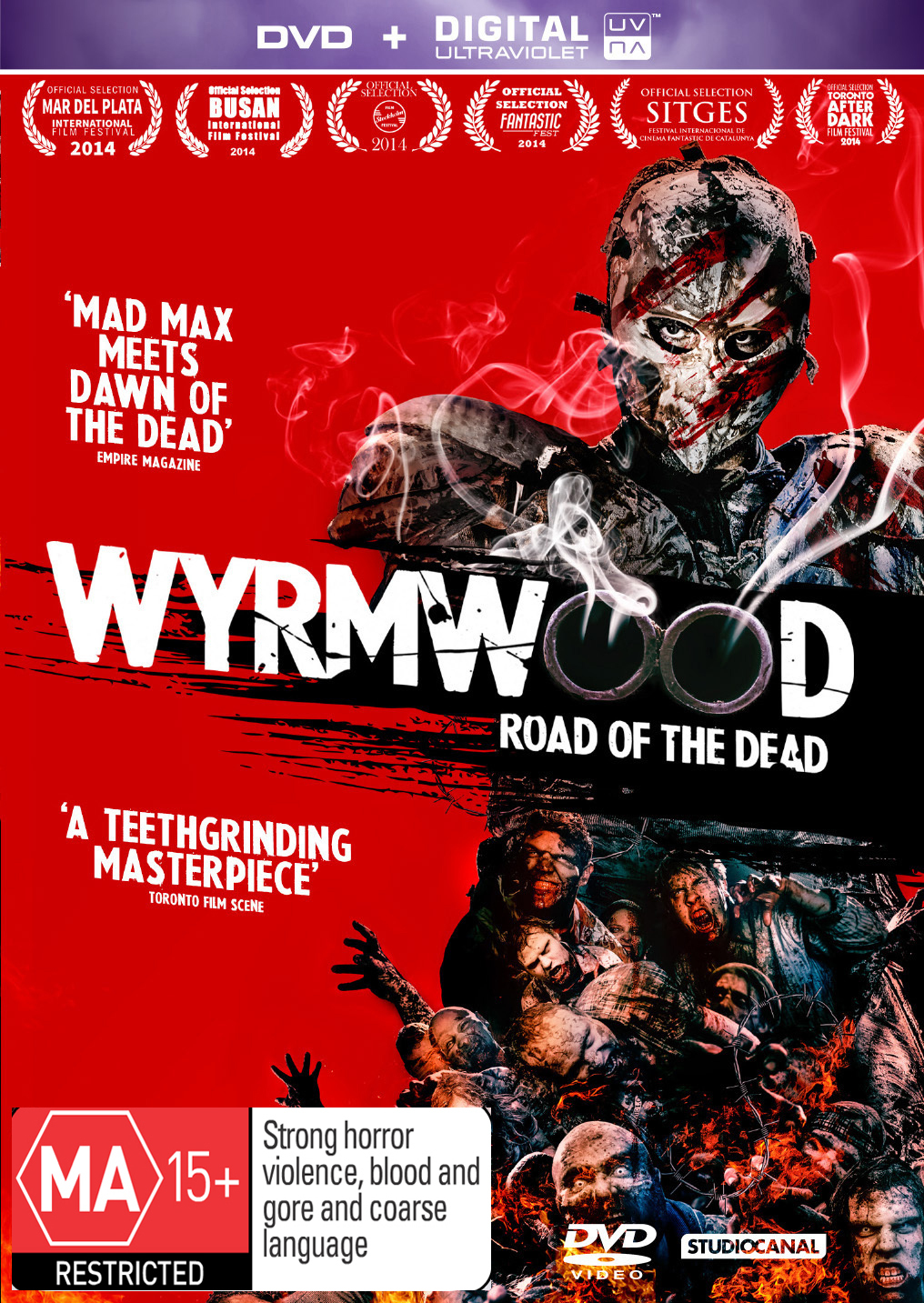 Wyrmwood on DVD image
