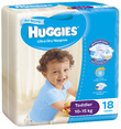 Huggies Ultra Dry Nappies - Toddler Boy 10-15 kg (18)