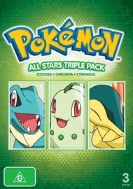Pokemon All-Stars: Triple Pack 2 on DVD