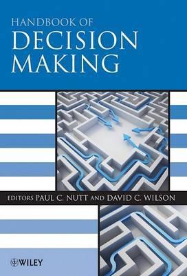 Handbook of Decision Making image