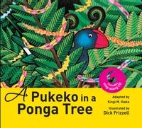 A Pukeko In a Ponga Tree by Ihaka Kingi
