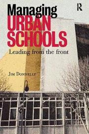 Managing Urban Schools by Jim Donnelly image