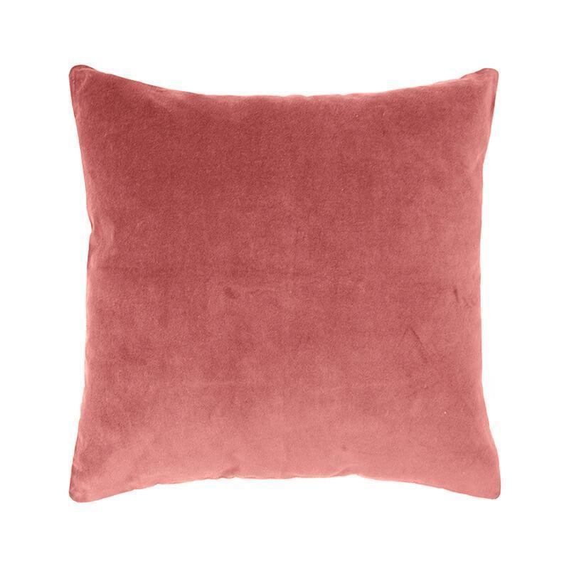 Bambury Clay Velvet Feather Filled Cushion image