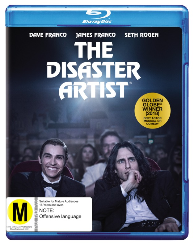 The Disaster Artist on Blu-ray