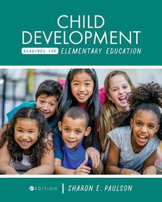 Child Development Readings for Elementary Education by Sharon E Paulson image