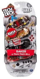 Tech Deck: Fingerboards 4-Pack - (Baker)