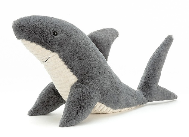 Jellycat: Shadow Shark - Medium Plush