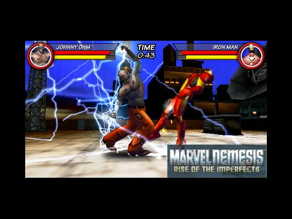 Marvel Nemesis: Rise of the Imperfects for PSP image