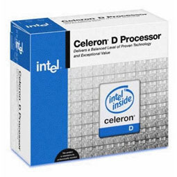 Intel Celeron D #340 2.93GHZ 533MSB 256K LGA775 Retail Box With Fan