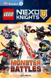 Lego Nexo Knights: Monster Battles by Julia March