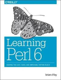Learning Perl 6 by Brian D. Foy image